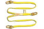 Shock Absorbing Lanyards - Dual Leg Tubular (100% Tie-Off) 420A