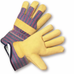 West Chester Protective Gear 5555 Leather Palm Gloves