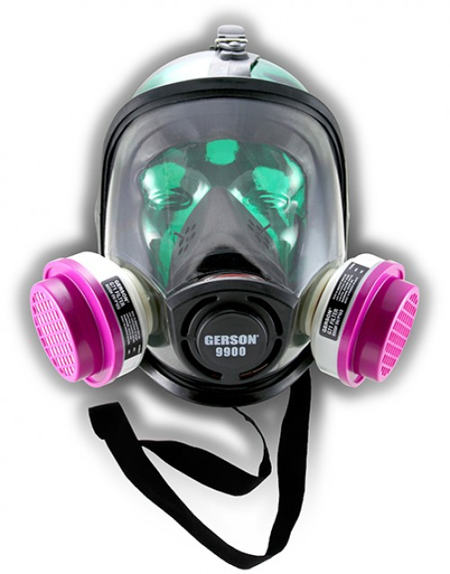 Full Face TPE Respirator / G71 Cartridges Kit