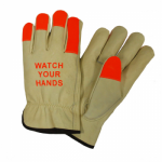 West Chester Protective Gear 990KOT Leather Driver Gloves