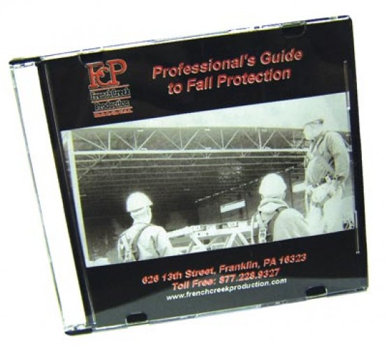 DVD - Professional's Guide to Fall Protection - FPG-1DVD
