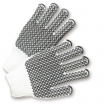 West Chester Protective Gear K708SKHW Dotted String Knit Gloves