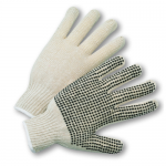 West Chester Protective Gear K708SK Dotted String Knit Gloves