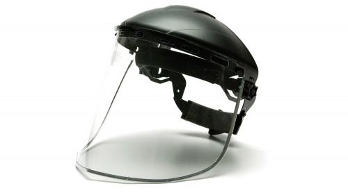 Aluminum Bound Polyethylene Face Shield S1015